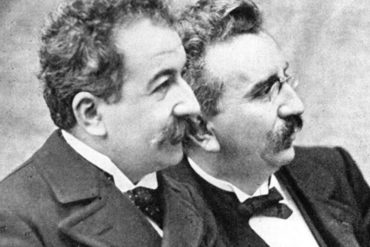 Lumiere Brothers -Οι αδελφοί Λυμιέρ, εφευρέτες του κινηματογράφου (13 Φεβρουαρίου 1894)