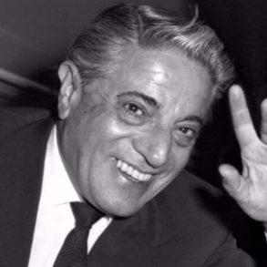 Αριστοτέλης Ωνάσης, έλληνας μεγιστάνας. Θαν. 15 Μαρτίου 1975