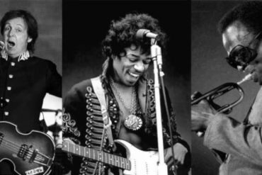 hendrix- paul mccartney-miles davis