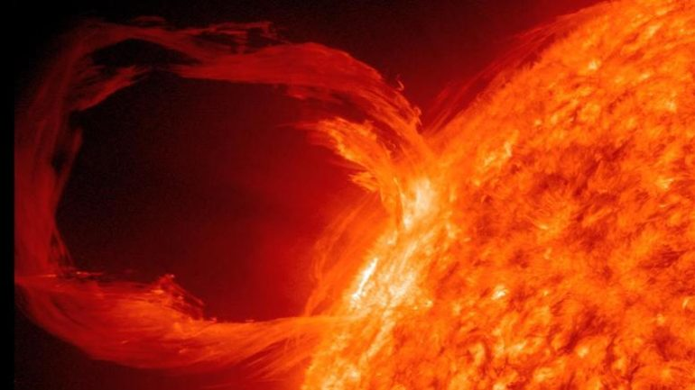 ηλιακή καταιγίδα