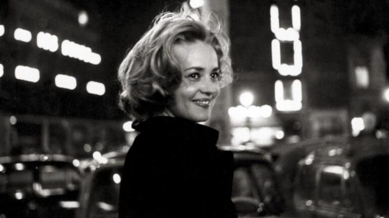 Ζαν Μορό, γαλλίδα ηθοποιός. Γεν 23 Ιανουαριου 1928