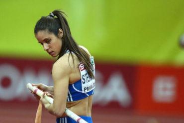 Κατερίνα Στεφανίδη, ελληνίδα ολυμπιονίκης. Γενεθλια 4 Φεβρουαριου 1990.