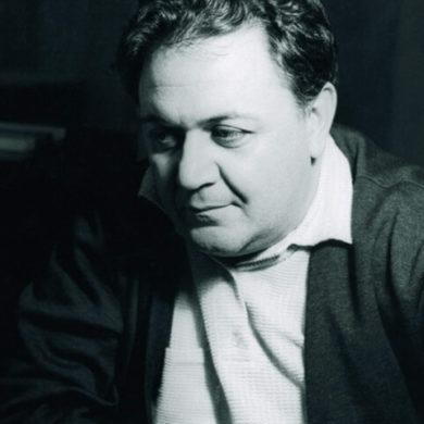 Μάνος Χατζιδάκις, έλληνας συνθέτης. Θανατος 15 Ιουνίου 1994